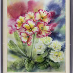Primroses I 2017 (10) / Watercolour 30x40cm on Arches CP © janinaB. 2017
