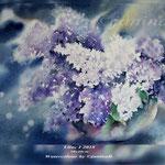 Lilac I 2018 (20) / 30x40cm Watercolour by ©janinaB.
