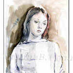 Federica-(16) / Watercolour 24x32cm / insp. Federica Erra