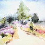 Landscape IV 2011 (3) / Watercolour 30x40cm  ©janinaB.