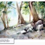 Landscape XX (19) / Watercolour 30x40cm © janinaB. 2017