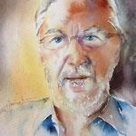 bl pascal (O5) / Watercolour 15x22cm