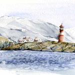 Saertervika (O6) / Watercolour 18x25cm © janinaB.