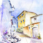 Treppengasse-(2) / Watercolour 30x40cm  ©janinaB.