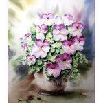 Stiefmütterchen (15) / Watercolour 30x40cm