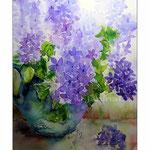 Flieder (T2) / Watercolour 30x45cm