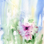 Petunie-I-2011-(1) / Watercolour 30x40cm