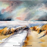 See II 2018 (O3) / 21x30cm Watercolour by ©janinaB.
