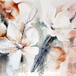 Flowers-III (5) / Watercolour 24x34cm insp. Fabio Cembranelli