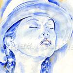 Sinnlichkeit (12) / Watercolour  30x40cm