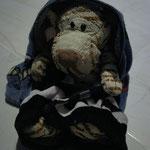 ..cuddly into a towel...