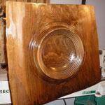 Oberflächenbehandlung (schleifen von Korn 180 bis 600, ölen)