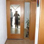 Türrahmen ( Eingangstür vom Flur  zum Wohnzimmer)