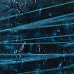 Chant de la Terre n°102 / Latitude 49,69° Longitude - 0,32° / Cognac  / France / 10.08.2011 / Peinture sur Toile 80x100