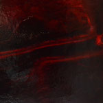 Chant de la Terre n°135 / Latitude 47,55° Longitude 1,72° / Montrieux en Sologne /  France / 10.08.2017 / Peinture sur Toile 100x130