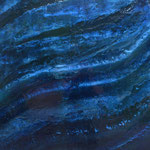 Chant de la Terre n°113 / Latitude 49,12° Longitude 1,39° / Saint-Pierre de Bailleul / France / 02.03.2015 / Peinture sur Toile 100x130