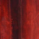 Chant de la Terre n°141 / Latitude 43,46° Longitude 3,52° / Saint Mathieu / France / 09.11.2017/ Peinture sur Toile 50x50