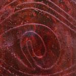 Chant de la Terre n°110 / Latitude 49,12° Longitude 1,39°/ Saint-Pierre de Bailleul / France / 16.01.2015 / Peinture sur Toile 80x100