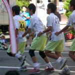 ムカデ競争:中学生チーム