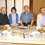 左から 永井さん、飯沼さん、町長、阿部