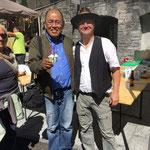Wangpo e Ilario Garbani