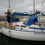 Nuevo Méjico- Cabo de hornos- Mar de plata...  cuatro meses sin escalas.