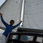 Por fin alta mar!!! Salimos del Rio de la Plata!!