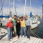 Rodolfo y Clara viejos lobos de mar con 12 años de vuelta al mundo en la mochila.
