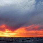 Cielos en las cercanias de Mar de Plata.