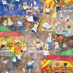 「キャンプ場の思い出」 コ ユフィ 東京朝鮮第一幼初中級学校