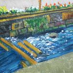 「川辺にて」 ペ・ユフィ  愛知朝鮮中高級学校