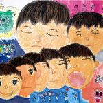 「眠り-夢の国」 キム・ヨンギュ 岐阜朝鮮初中級学校