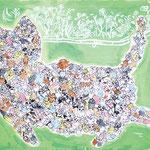 「猫」 キム・チナ 埼玉朝鮮初中学校
