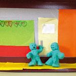 アニメーション「運動場に行こう」 キム・リヨ、リュウ・ユナ、オム・リサ 千葉朝鮮初中級学校
