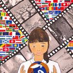 「思索」 キム ミフィ 東京朝鮮第一幼初中級学校