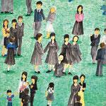 「入学式のあと」 チン スソン 東京朝鮮第一幼初中級学校