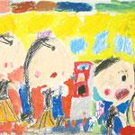 「そうじ!たのしいよ」 パク・ユシム 尼崎朝鮮初中級学校
