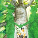 「信頼という木を育てよう!」 キム リャンテ 西東京朝鮮第一初中級学校