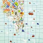 「朝鮮地図」 アン・ヒャンミ 生野朝鮮初級学校