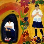 「心の悩み」 キム リョンファ 広島朝鮮初中高級学校