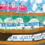 「楽しい鉄道」 ホ・チャンテ 岐阜朝鮮初中級学校