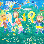 「ノンアッ、最高!」 キム・ユンジュ 東京朝鮮第一幼初中級学校