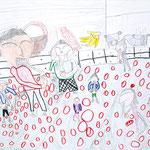 「お餅はおいしい」 リ・リョンフィ 西播朝鮮初中級学校
