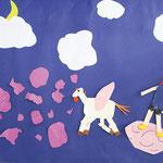 アニメーション「人と動物の団結した力」 6年生Aチーム 尼崎朝鮮初中級学校