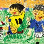 「ジャンピングボレーシュート」 チェ・ギョンテ 尼崎朝鮮初中級学校