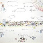 「もしもの世界-逆さの世界-」 ユン・サヤ 埼玉朝鮮初中級学校