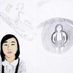 「わたしとわたしの目に映るわたし」 キム・ウフィ 岡山朝鮮初中級学校
