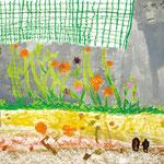 「きれいな花が咲いてるよ!」 リ・ユノ 西神戸朝鮮初級学校