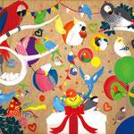 「鳥たちのパーティー」 リ ファリョン 埼玉朝鮮初中級学校