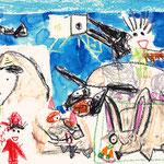 「牛、馬、羊、兎・・・ぼく」 リ・ソンハ 大阪朝鮮第四初級学校